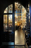 The Doorway into the Main Church of Moscow Kremlin