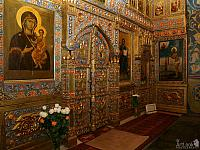 The Local Tier of iconostasis of St. Basil the Blessed Chapel