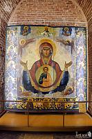 "Icon of the Mother of God ""The Sign"" (1780s)"