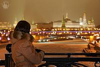 Festive Lights of Moscow Kremlin