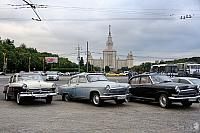 Meeting of Old Friends at Vorobyevy - GAZ-M-21 Volga Cars