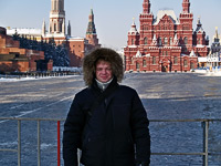 Tour of Red Square in a Warm Parka