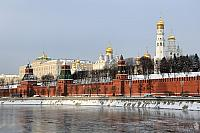 Architectural Ensemble of Moscow Kremlin. December 2013