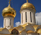 Magnificent Golden Cupolas of Holy Churches (Sergiyev Posad)