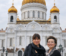 At Cathedral of Christ the Savior