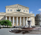 The Main Building of Bolshoi Theater