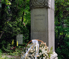 Grave of Alexander Scriabin