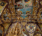 Restored Vaults of St. Sergius Church with Ascension of Jesus