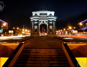 Renewed Triumphal Arch - The Symbol of the Victory over Napoleon (1812 -2012)