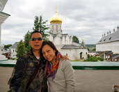 On the Monastery's Bell Tower (Zvenigorod)