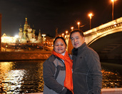 Under the Lights of Bolshoi Moskvoretsky Bridge