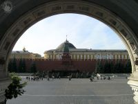 Red Square from Entrance of GUM