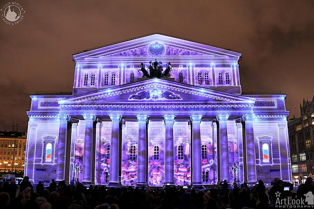 The Frozen Russian Palace of Art - Bolshoi Theater