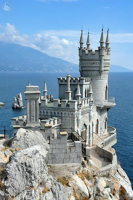 "Neo-Gothic Castle ""Swallow's Nest"""
