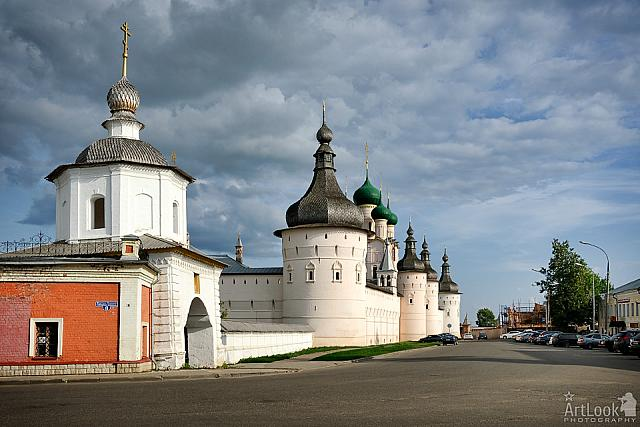 Holy Gates of Sobornaya Square & Fortified Walls of Rostov Kremlin