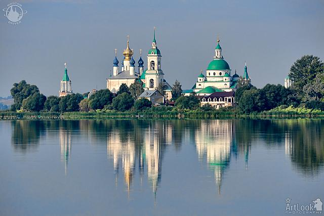 Spaso-Yakovlevsky Monastery with Reflection in Lake Nero