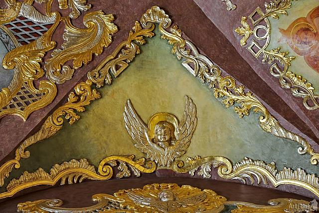 Gilded Image of Angel