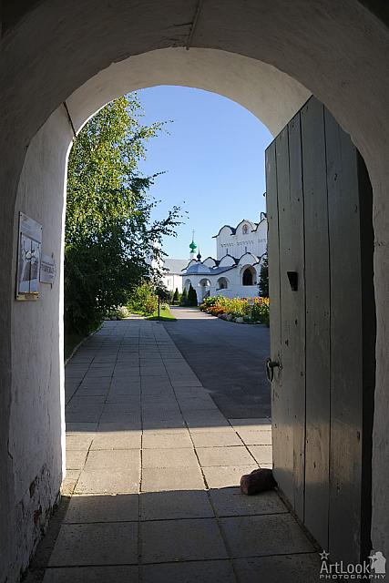 Doorway to the convent of Intercession