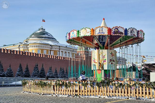 Children's Carousel on the Red Square