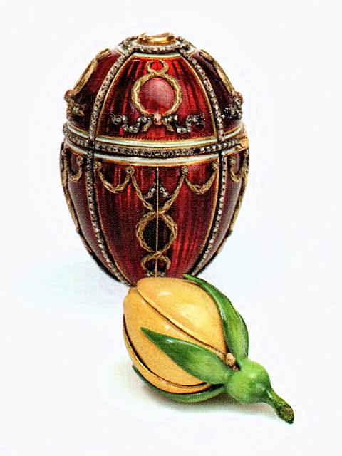 "The Easter Egg ""Rosebud"" (1895)"