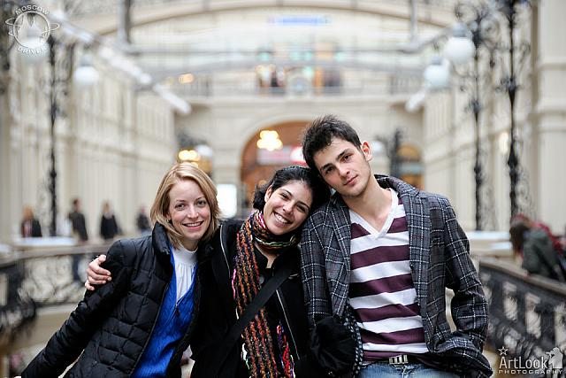 Trio from German Opera Touring GUM