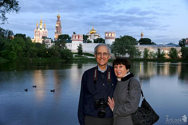 At Ponds of Novodevichy