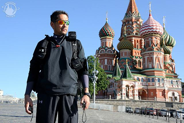 On a Sunny Morning at Majestic St. Basil's Cathedral