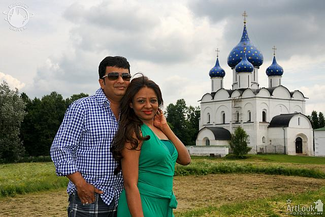 Portrait with Magnificent Nativity Cathedral of Suzdal Kremlin