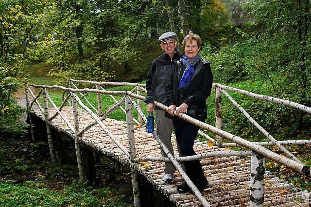 On a Small Birch Bridge in Yasnaya Polyana