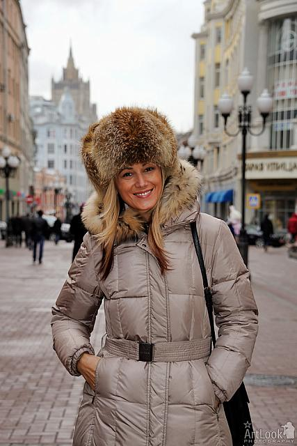 In Russian Fur Hat