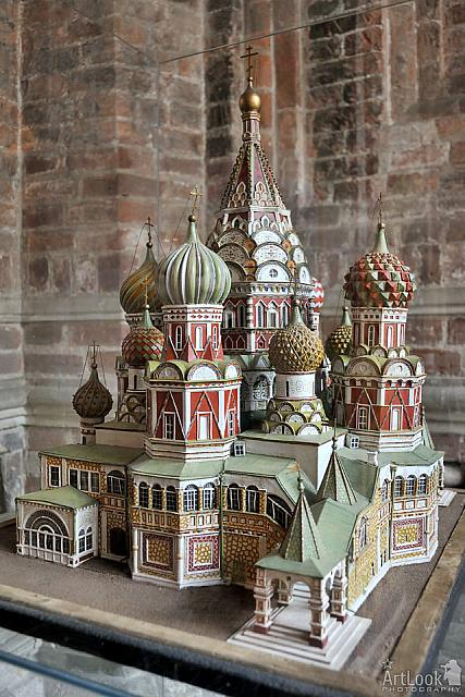 Model of the Intercession Cathedral