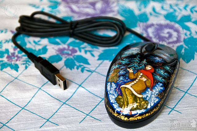 Computer Mouse in Russian Style