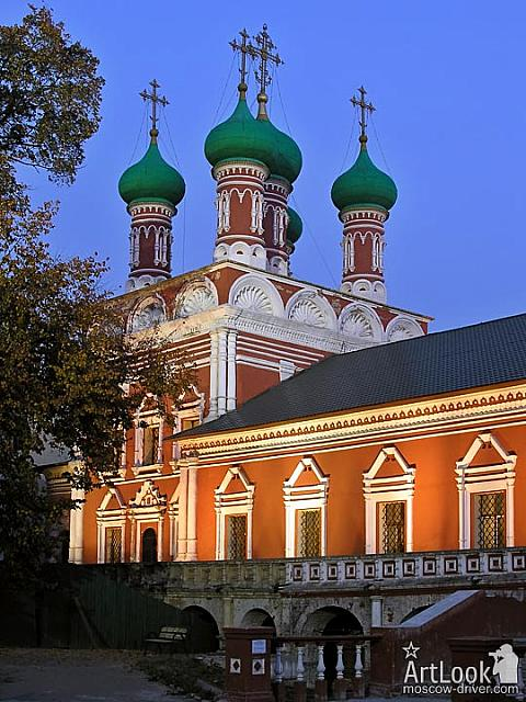 Church of St. Sergius in Vysoko-Petrovskiy monastery