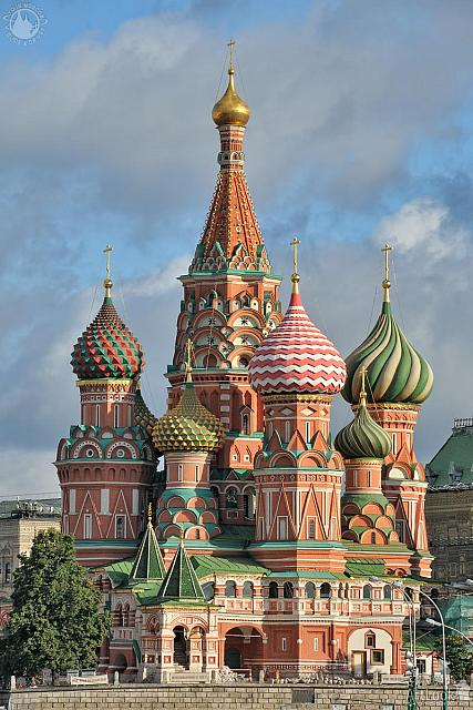 St. Basil's Cathedral Rising into the Sky