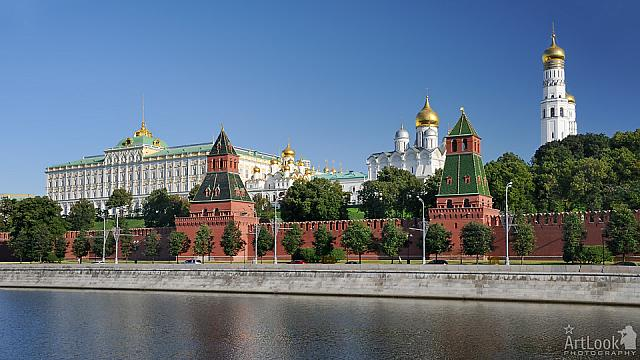 Architectural Ensemble of Moscow Kremlin