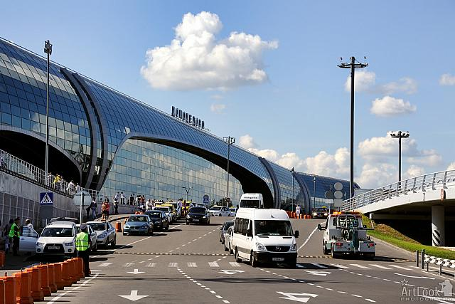 Modern Passenger Terminal of Domodedovo Airport