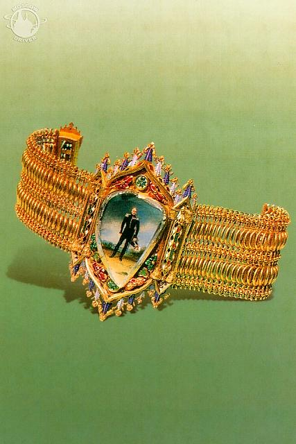 Bracelet with the portrait of Tsar Alexander I