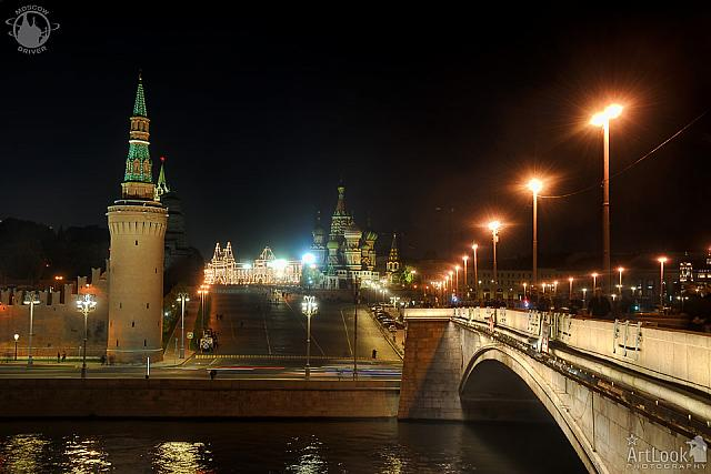 St. Basil's Slope at Night