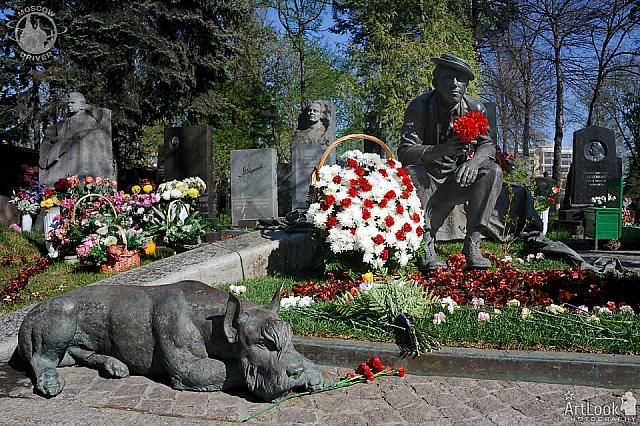 Grave of Yuri Nikulin