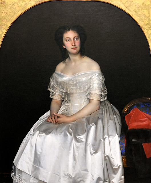 Portrait of M.V. Vorontsova (1851)