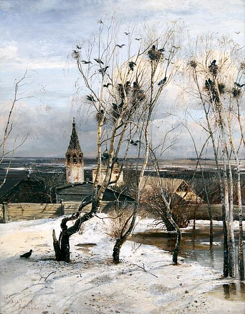 The Rooks Have Come (1871)