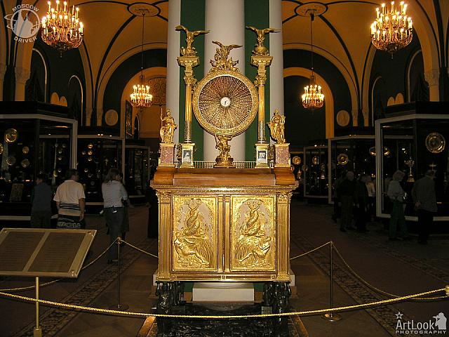 "The clock with music box ""The Temple of Glory"" (1793-1806)"