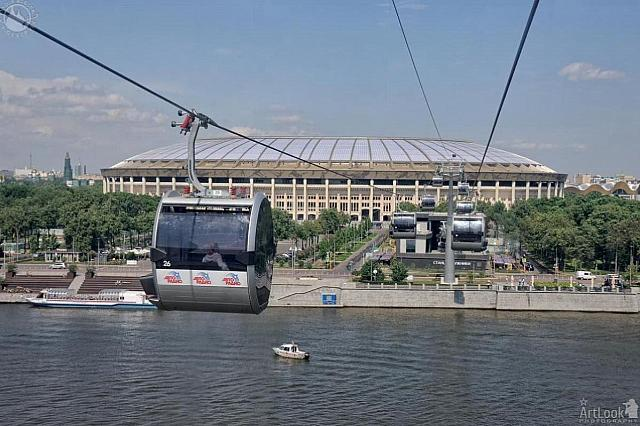 On the First Moscow Cable Car Line at Luzhniki