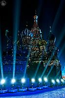 St. Basil's Cathedral Sparkling Like a Gem