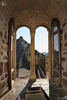 View of Fortification Wall through a Window of Consular Castle