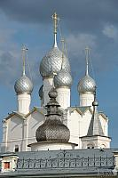 Silver Onion Cupolas of the Resurrection Church