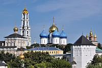 Domes and Towers of the Troitse-Sergiyeva Lavra