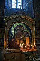 Mosaic Icon of Our Lady of Kazan in Assumption Cathedral