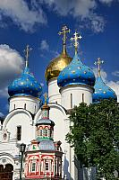 Bulbous Domes of Assumption Cathedral Raising to the Skies