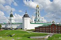 At the Carpenter Tower of the Holy Trinity - St. Sergius Lavra
